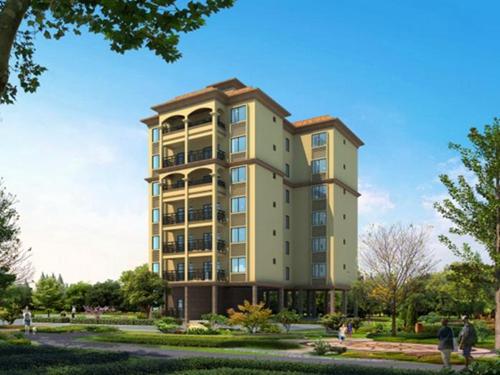 金沙咀国际广场 一居  户型图